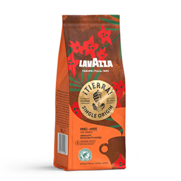 Мляно кафе Lavazza iTierra! Peru Single Origine в плик 180гр.