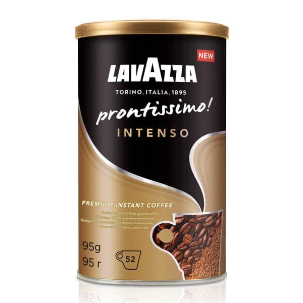 Разтворимо кафе Lavazza Prontissimo! Intenso в метална кутия 95гр. (52 чаши)