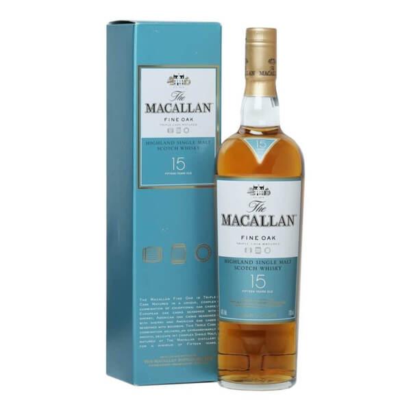 The Macallan Fine Oak 15 Y.O. 700ml.