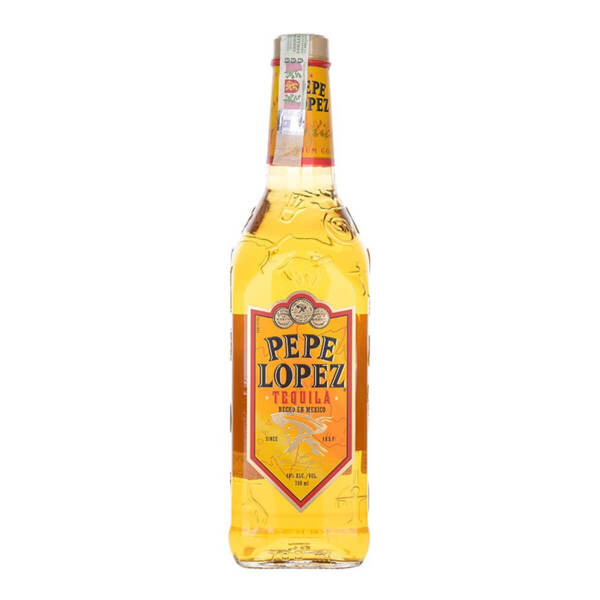 Текила Pepe Lopez Gold 700ml.