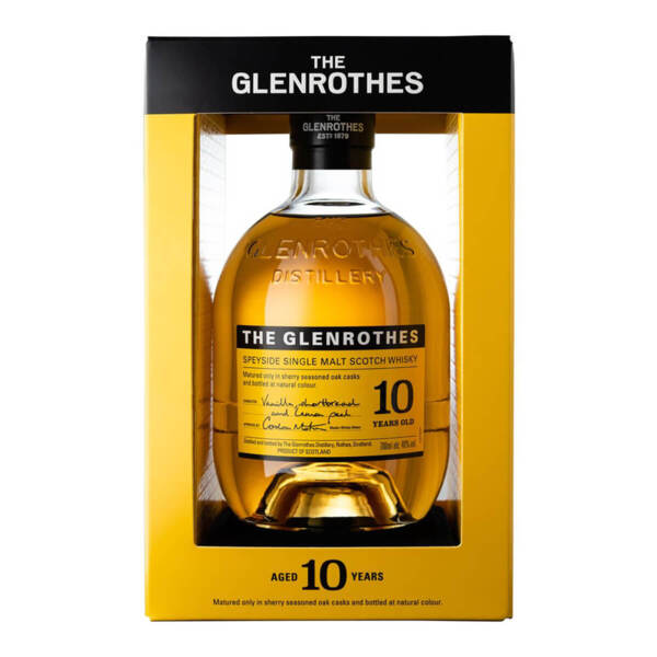 The Glenrothes 10 Y.O. 700ml.