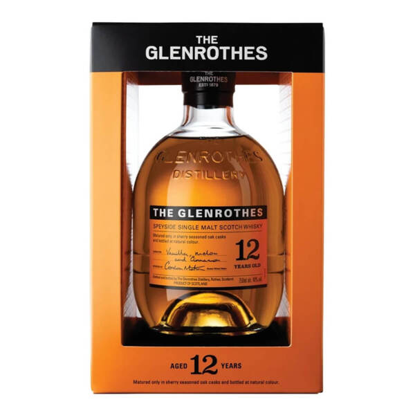 The Glenrothes 12 Y.O. 700ml.