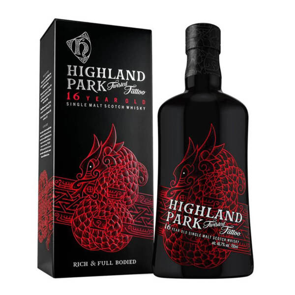 Highland Park Special Edition Twisted Tattoo 700ml.