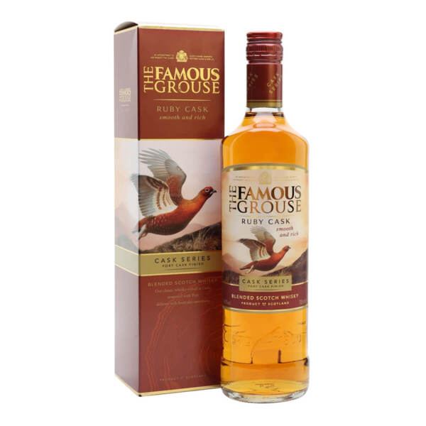 The Famous Grouse Ruby Cask 700ml.