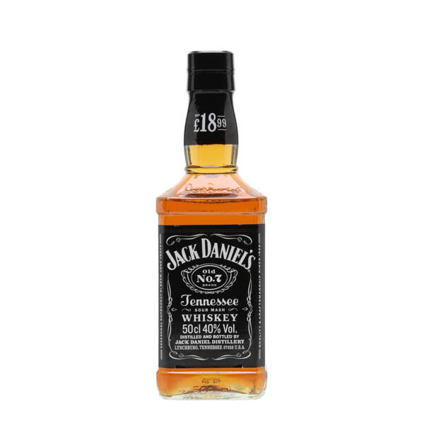 Jack Daniel's Tennessee Whiskey 500ml.