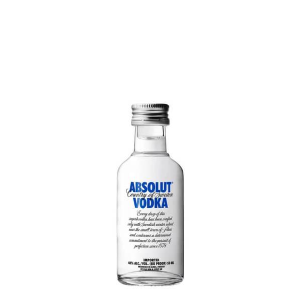 Водка Absolut 50ml.