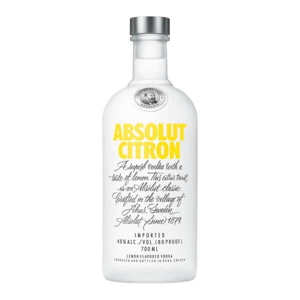 Водка Absolut Citron 700ml.