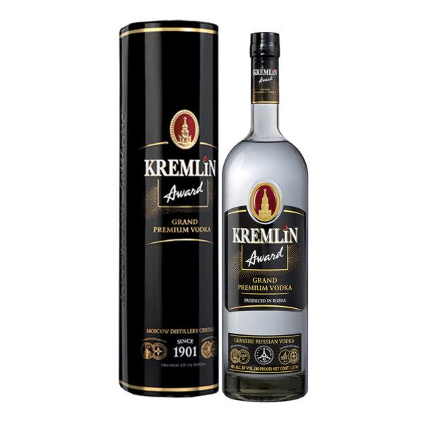 Водка Kremlin Award Grand Premium в Метална кутия 1.0l.