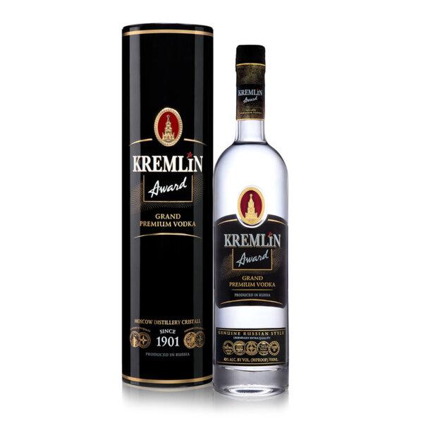 Водка Kremlin Award Grand Premium в Метална кутия 700ml.