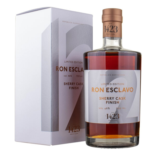 Ром Esclavo Sherry Cask Finish 12 Y.O. 700ml.