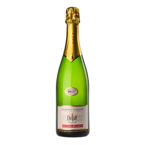 Пенливо вино Креман д'Алзас Кюве Жулиен Брут NV, 0.75л.