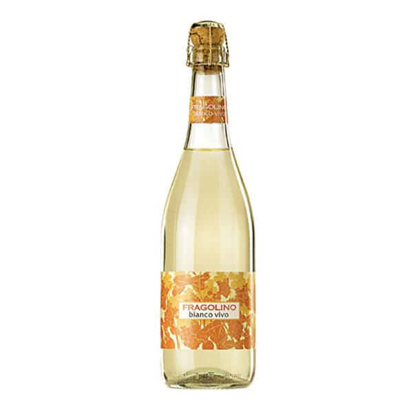 Пенливо вино Писани Фраголино Бианко Виво, 0.75л.