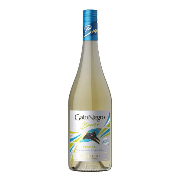 Пенливо вино Сан Педро Гато Негро Брийз Тропикал, 2018 0.75л.