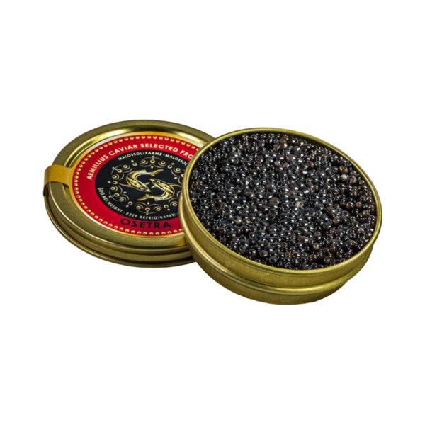 Черен хайвер от сибирска есетра - Acipenser BAERII (50 гр.)