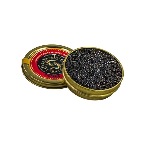 Черен хайвер от сибирска есетра - Acipenser BAERII (30 гр.)