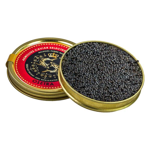 Черен хайвер от сибирска есетра - Acipenser BAERII (100 гр.)