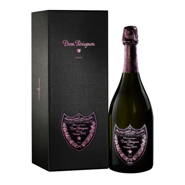 Шампанско Дом Периньон Розе 2005 в кутия, 0.75л.