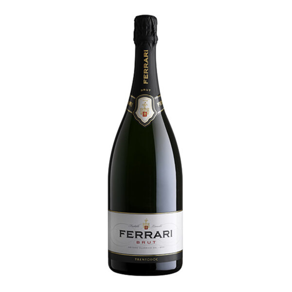 Пенливо вино Ферари Лунели Брут Магнум NV, 1.5л.