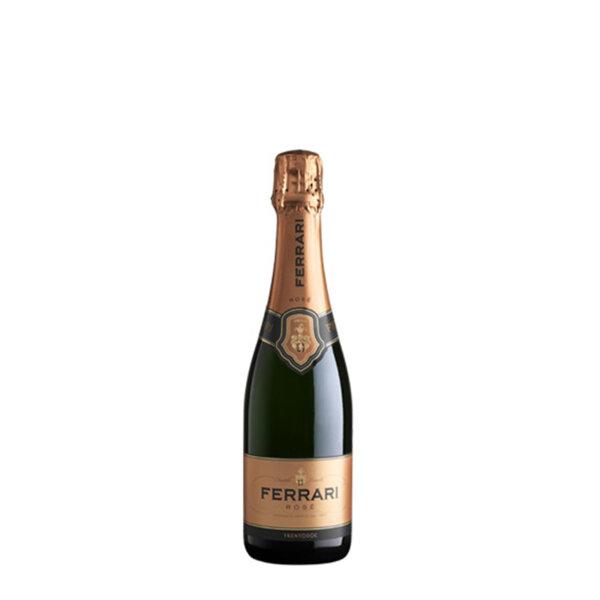 Пенливо вино Ферари Лунели Розе Тренто DOC, 0.375л.