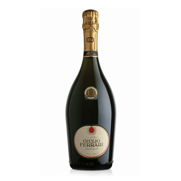 Пенливо вино Джулио Ферари Ризерва дел Фондаторе Тренто DOC 2004, 0.75л.