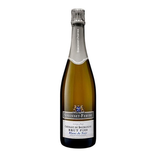 Пенливо вино Симоне-Февр Креман де Бургон Брут Блан де Ноар NV, 0.75л.
