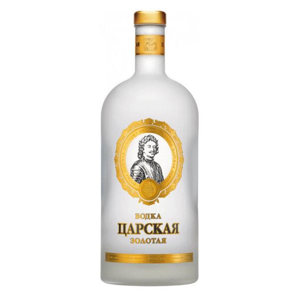 Водка Царская Золотая 1.75l.