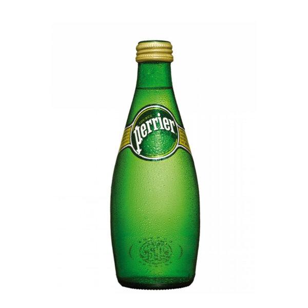 Газирана минерална вода Перие стъклена бутилка 330мл.
