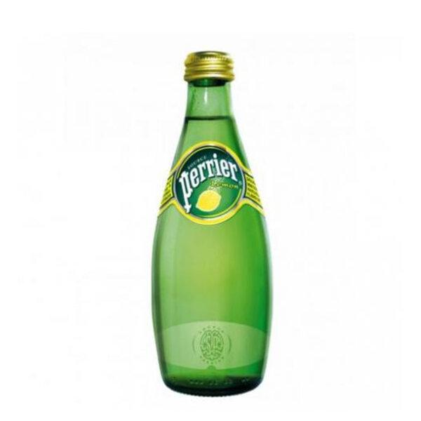 Газирана минерална вода Перие Лимон стъклена бутилка 330мл.