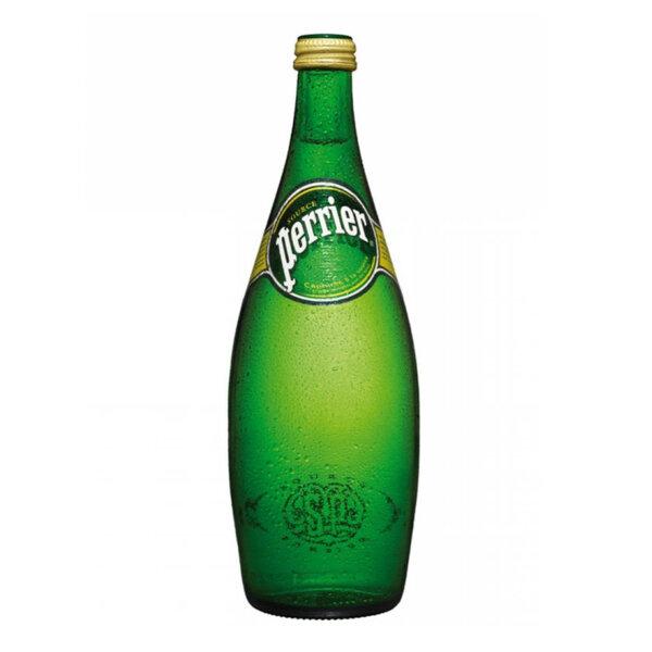Газирана минерална вода Перие стъклена бутилка 750мл.