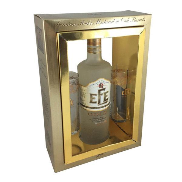 Ракъ / Раки EFE Gold в комплект с чаши 700ml.