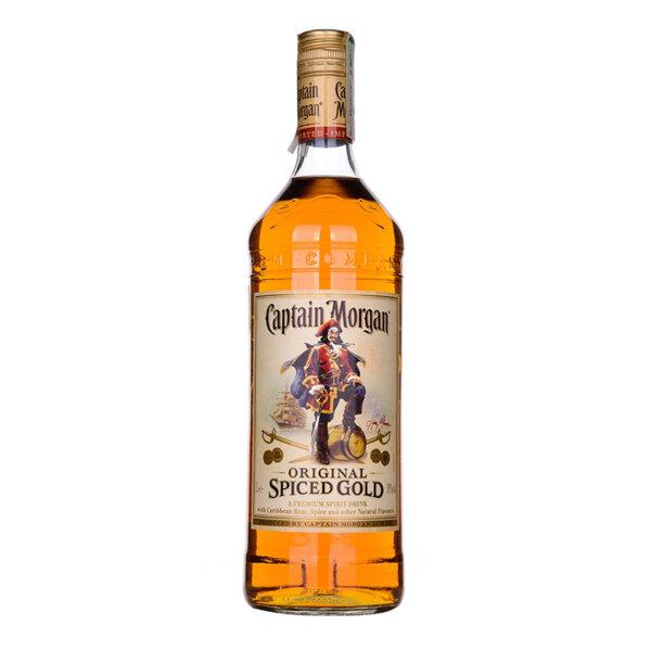 Ром Captain Morgan Original Spiced Gold 1.0l.
