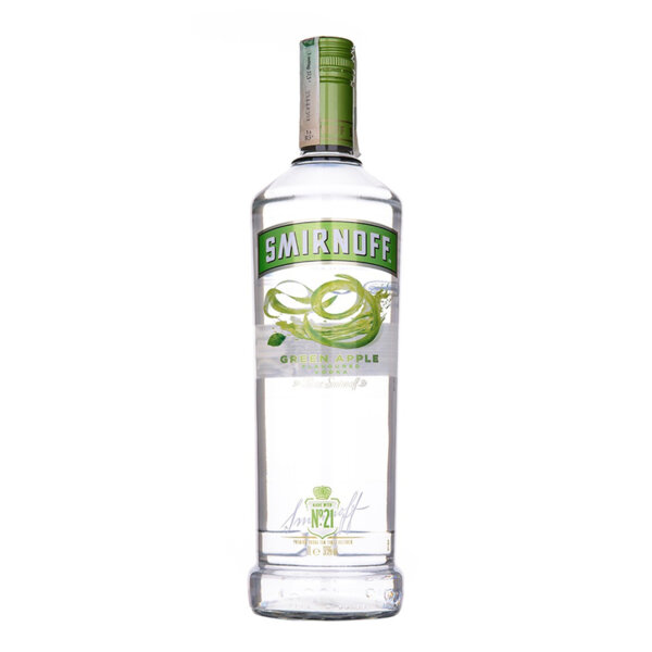 Водка Smirnoff Green Apple 1.0l.