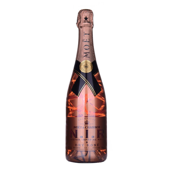 Шампанско Моет и Шандон Нектар Империал Розе, 0.75л.