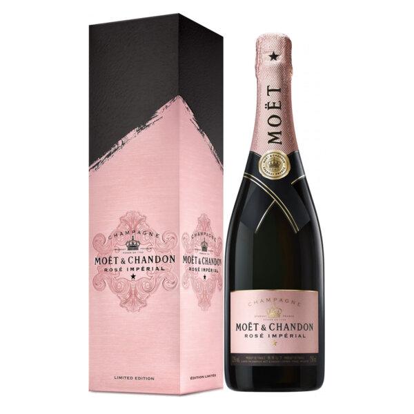 Шампанско Моет и Шандон Розе Империал Signature кутия Лимитирана серия, 0.75л.