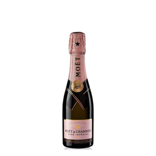 Шампанско Моет и Шандон Розе Империал, 0.20л.