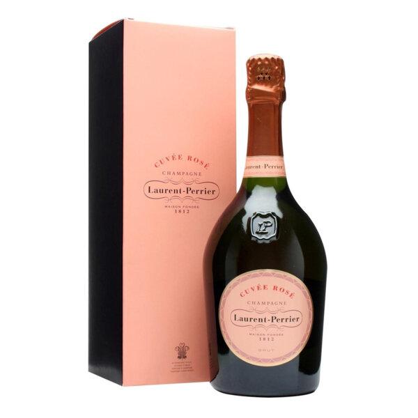 Шампанско Laurent Perrier Розе Брут с кутия, 0.75л.