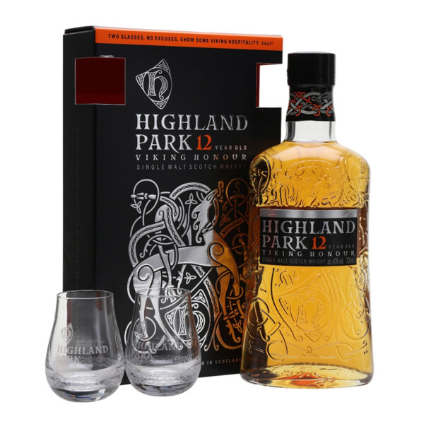 Highland Park Viking Honour 12Y.O. в комплект с чаши 700ml.