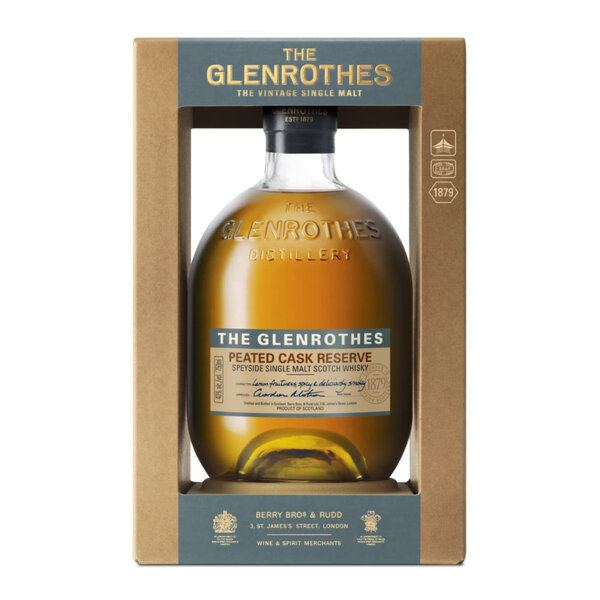 The Glenrothes Peated Cask Reserve 700ml.