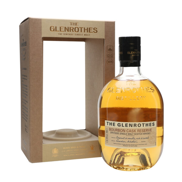 The Glenrothes Bourbon Cask Reserve 700ml.