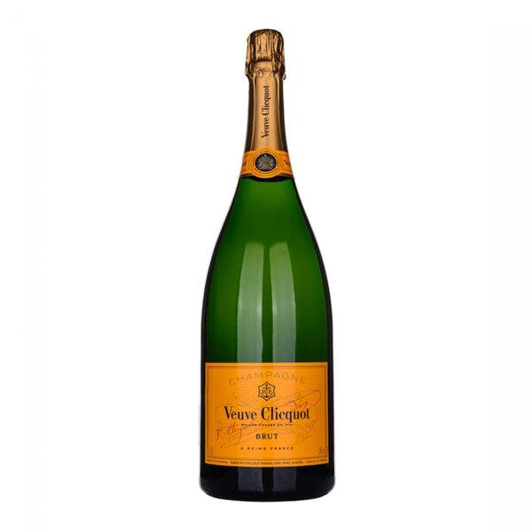 Шампанско Вьов Клико Брут Жълт етикет, 1.5л. Магнум