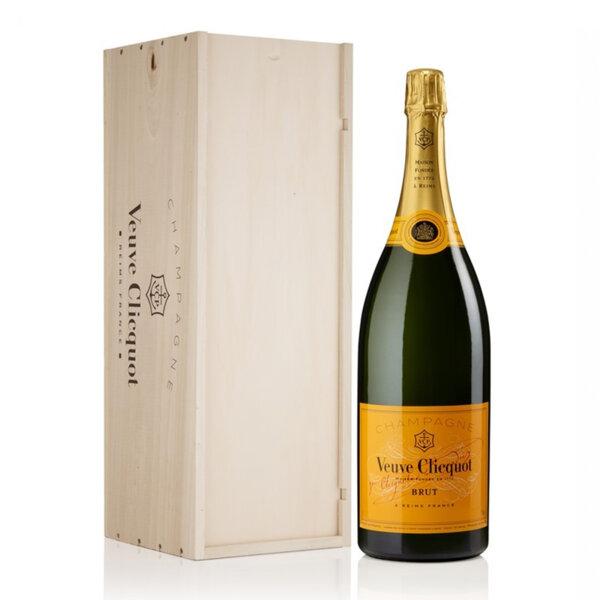 Шампанско Вьов Клико Брут Жълт етикет, 3л.