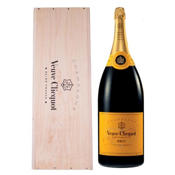 Шампанско Вьов Клико Брут Жълт етикет, 6л.
