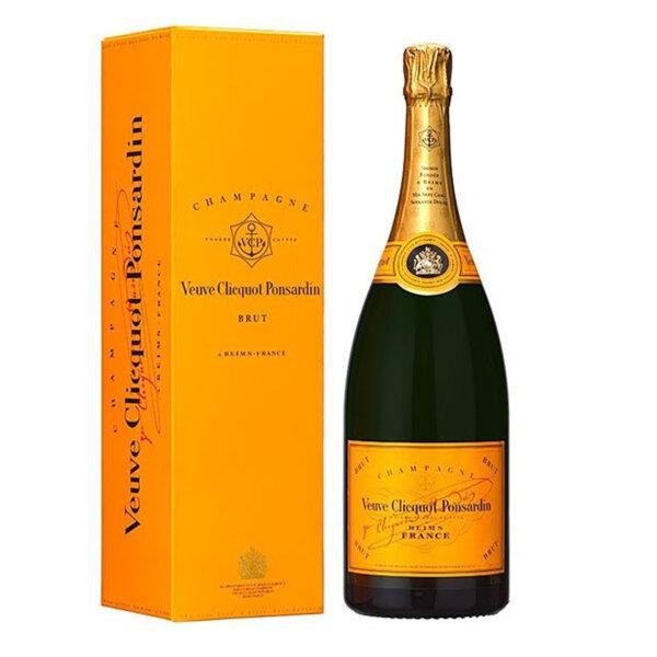 Шампанско Вьов Клико Брут Жълт етикет в кутия, 0.75л.