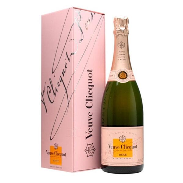 Шампанско Вьов Клико Розе в кутия, 0.75л.