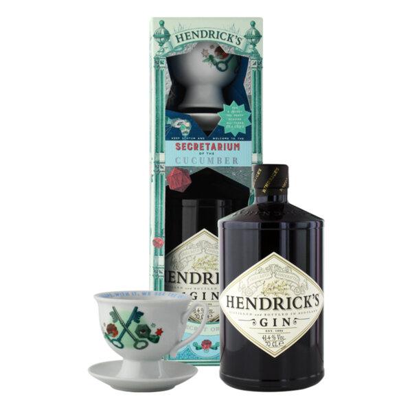 Джин Hendrick's Secret Order в комплект с чаена чаша 700ml.