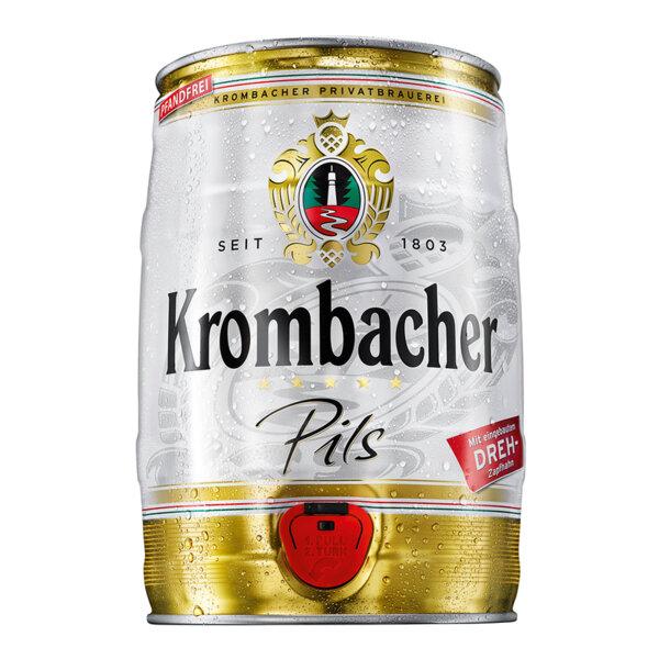 Бира Кромбахер Пилс парти кег 5.0л.