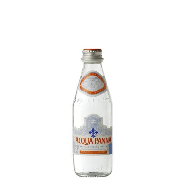 Минерална вода Аква Панна Стъклена бутилка 250мл.