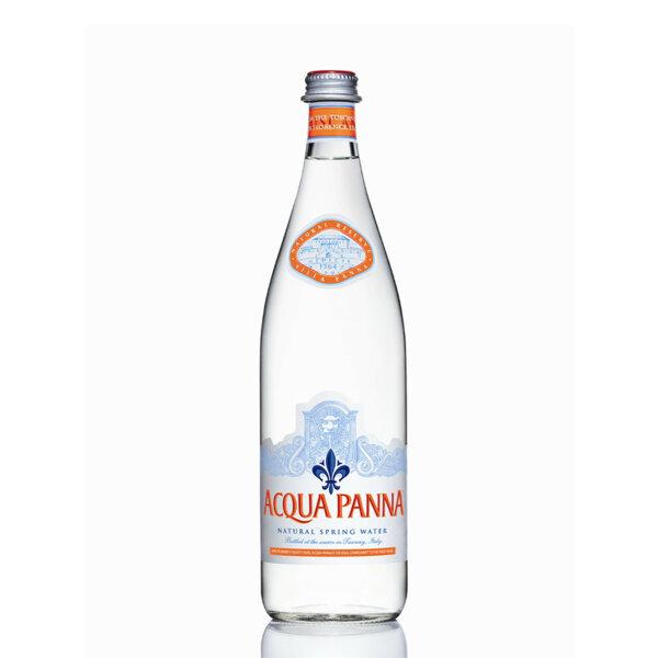Минерална вода Аква Панна Стъклена бутилка 750мл.