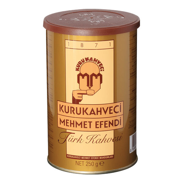 Турско кафе Мехмет Ефенди, мляно, кутия 250гр.