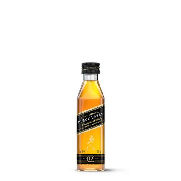 Johnnie Walker Black Label 12 Y.O. 50 ml.